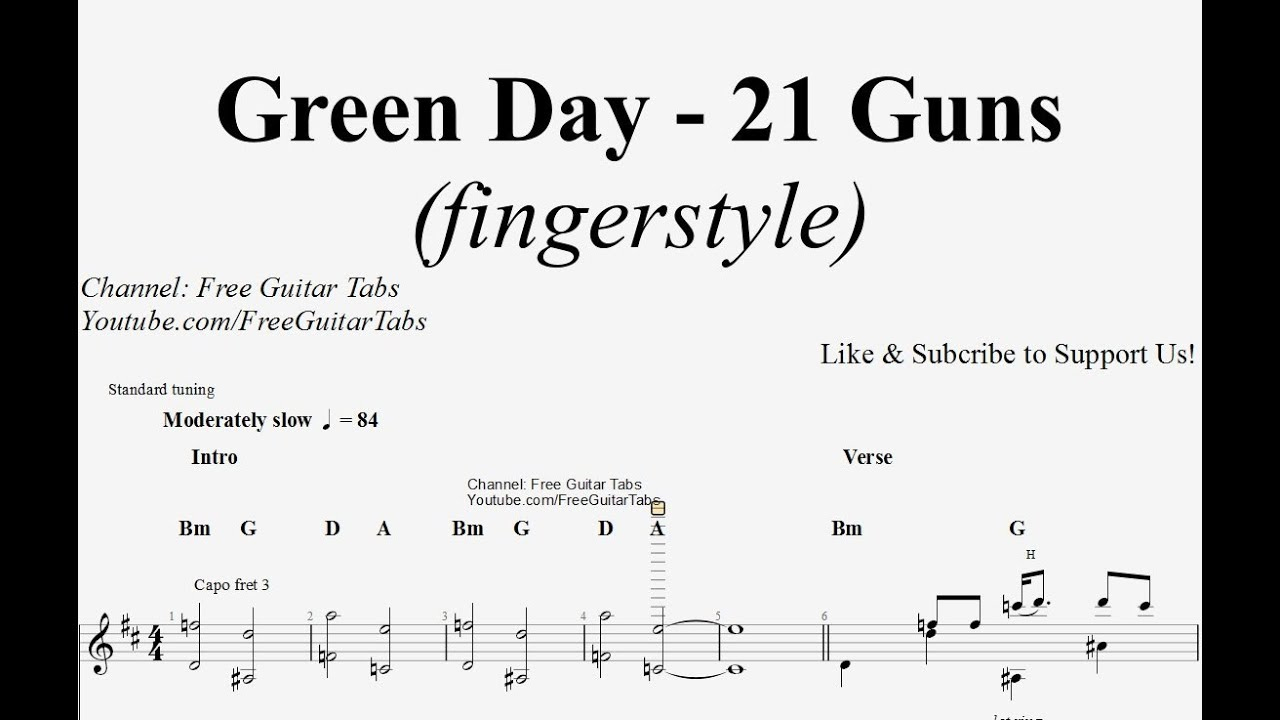 21 Guns Chords 21 Guns Chords Piano