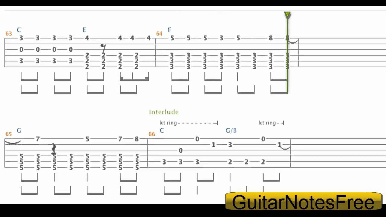 21 Guns Chords 21 Guns Green Day Guitar Tabchord Hd