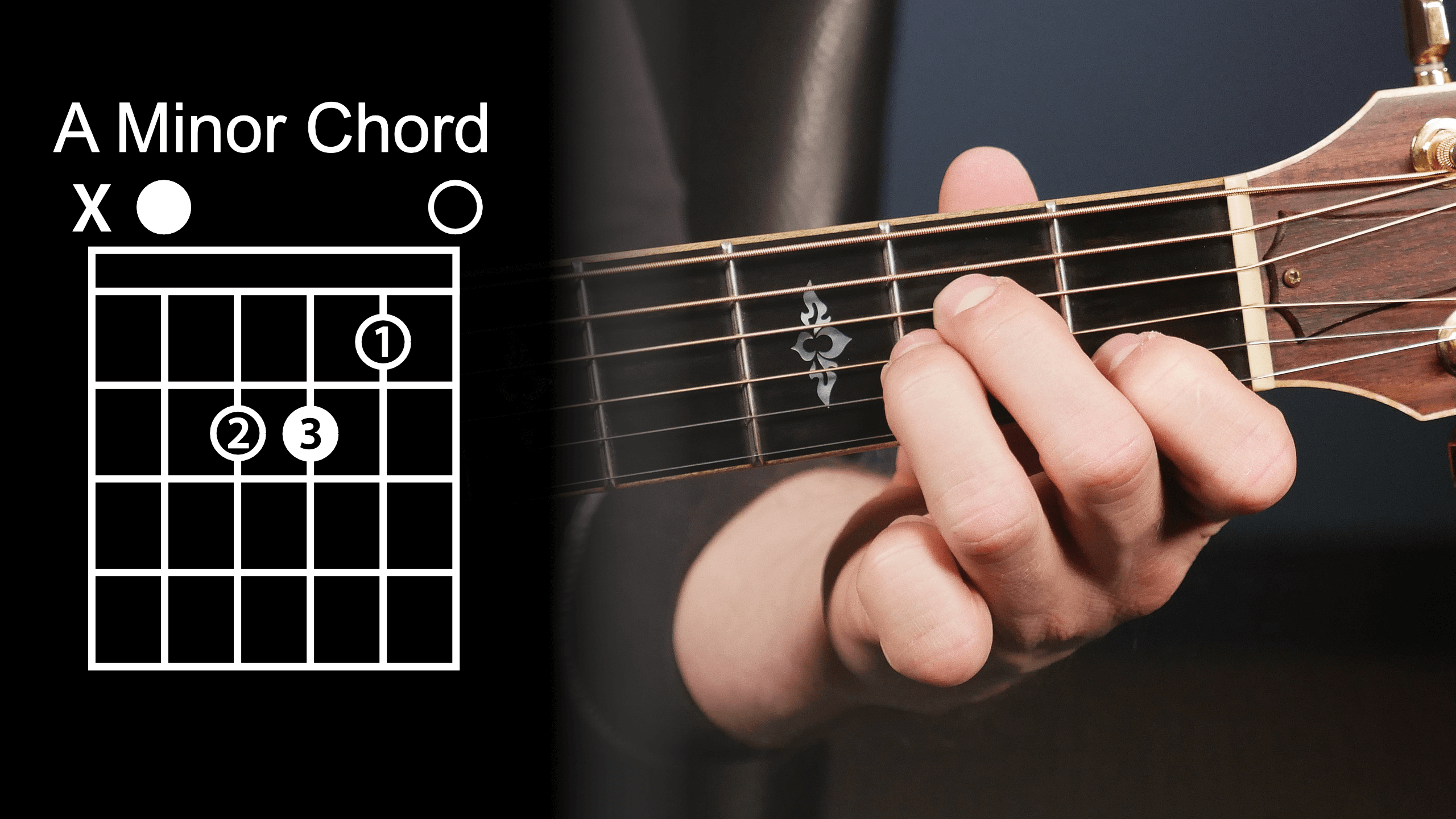 A Chord Guitar 8 Guitar Chords You Must Know Guitar Lesson Video