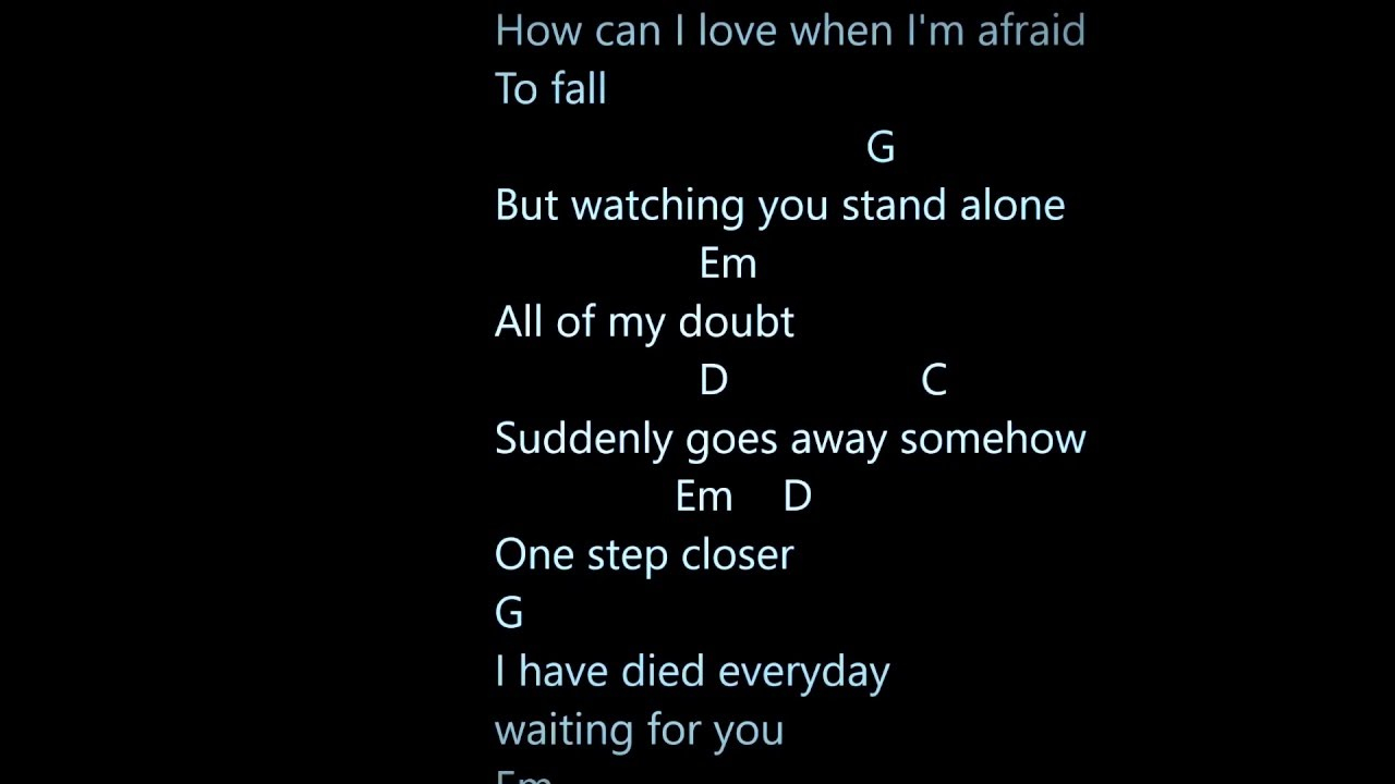 A Thousand Years Chords A Thousand Years Chords And Lyrics