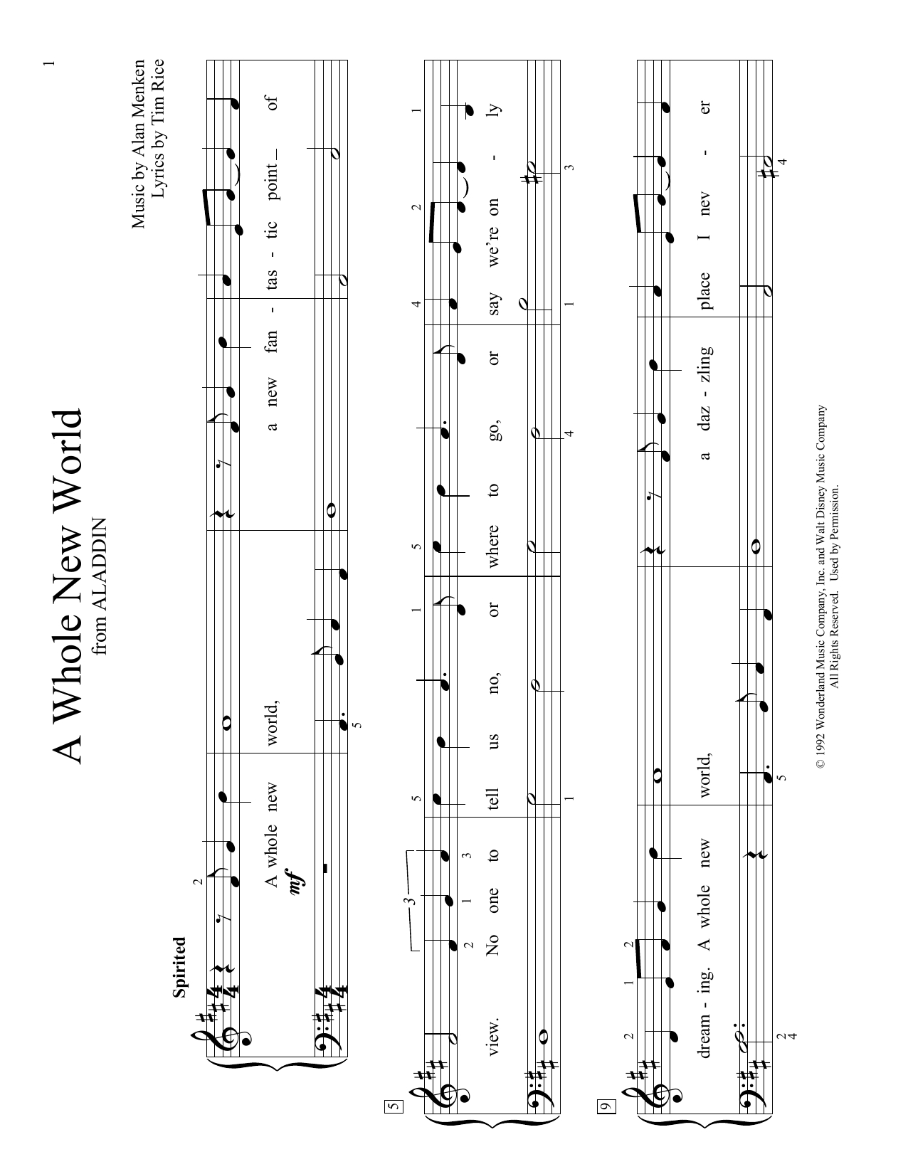A Whole New World Chords Alan Menken A Whole New World From Aladdin Arr Christopher Hussey Sheet Music Notes Chords Download Printable Educational Piano Sku
