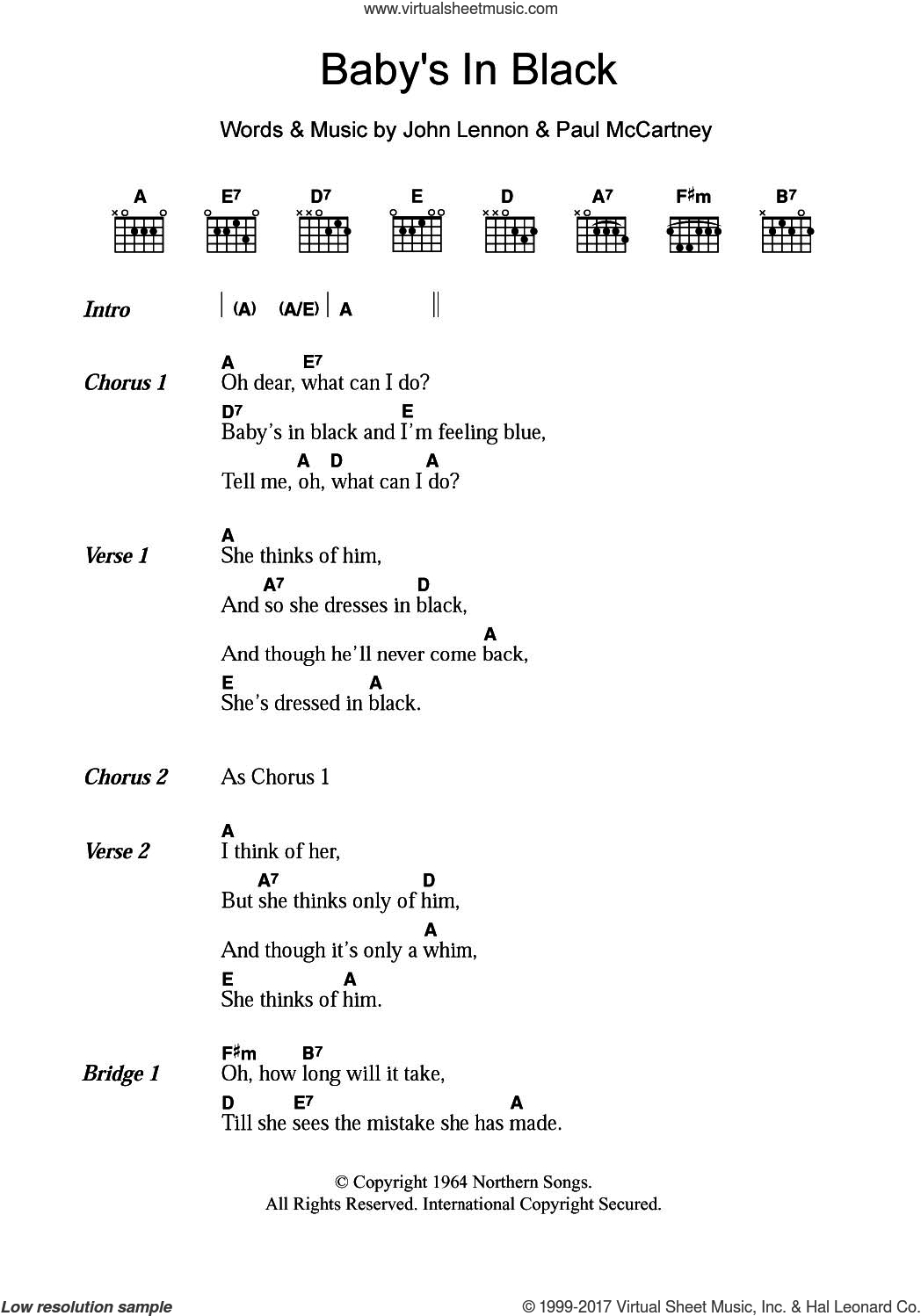 Across The Universe Chords Beatles Bas In Black Sheet Music For Guitar Chords Pdf