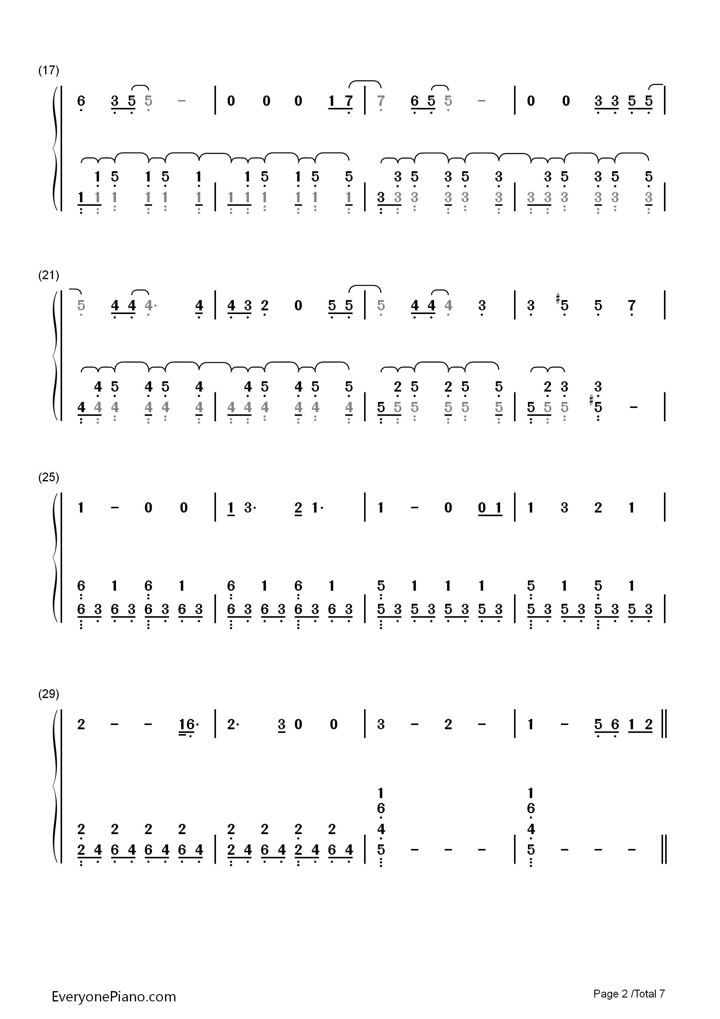 All I Ask Chords All I Ask Adele Free Piano Sheet Music Piano Chords