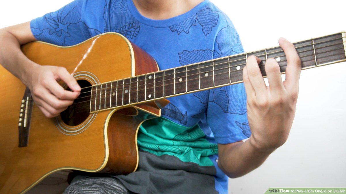 B Minor Guitar Chord 3 Ways To Play A Bm Chord On Guitar Wikihow