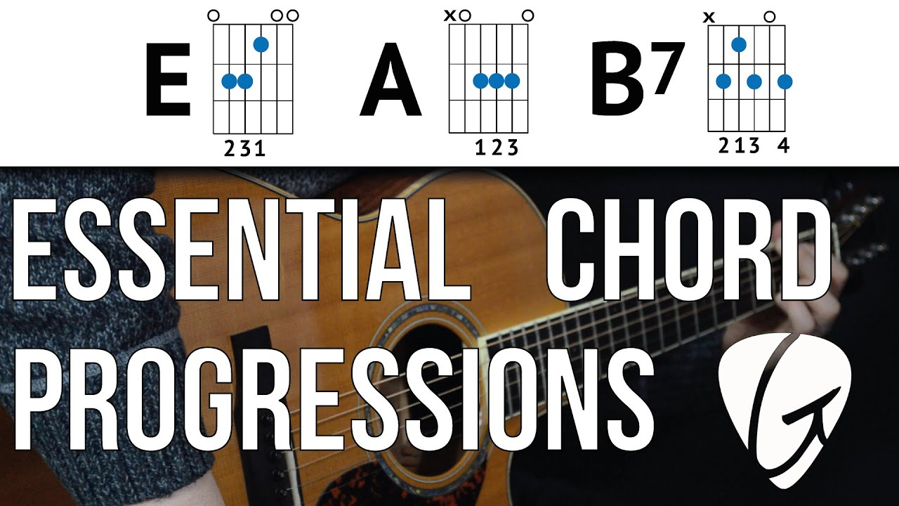 B7 Guitar Chord Chord Progression Practice E A B7 Country The Blues And Rock N