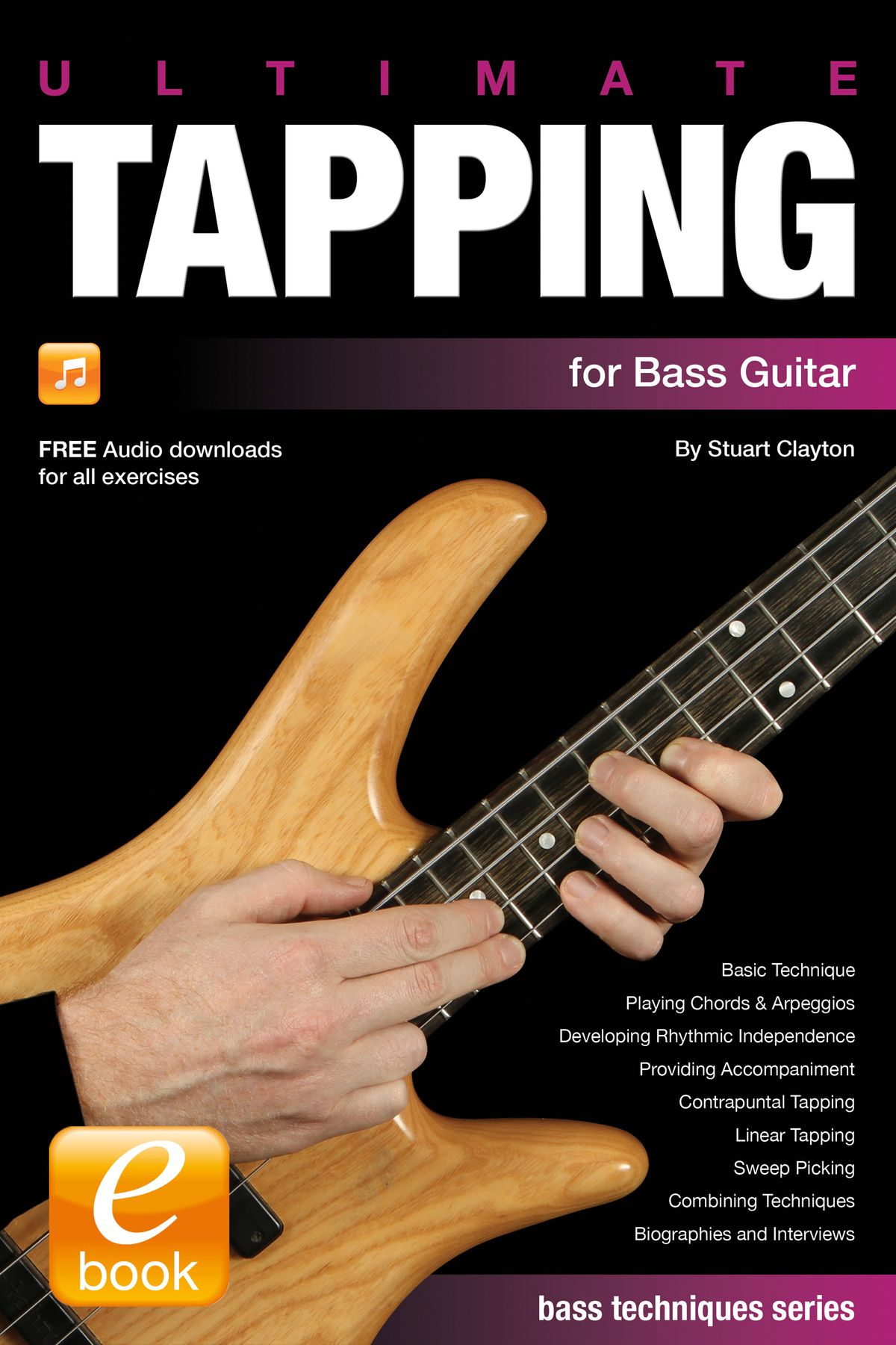 Bass Guitar Chords Ultimate Tapping For Bass Guitar Ebook Stuart Clayton Rakuten Kobo