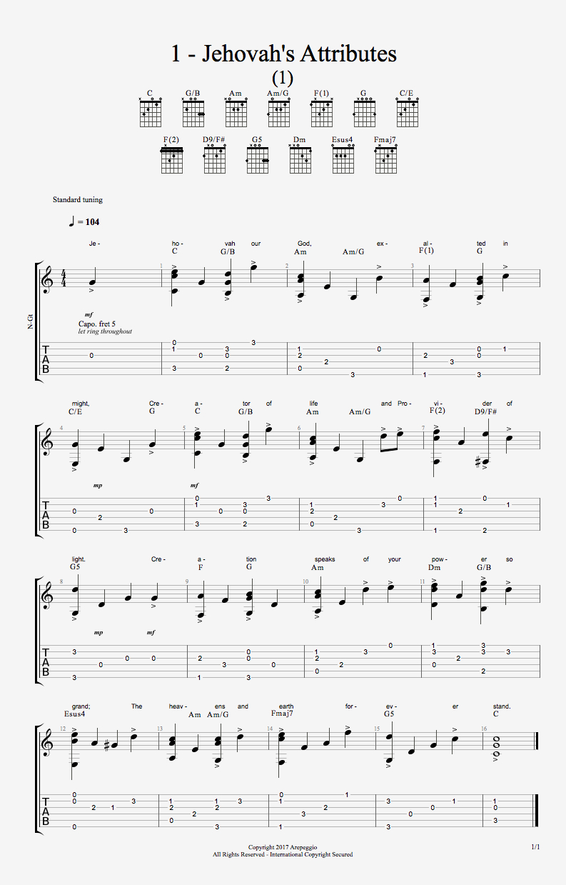 Blessed Be Your Name Chords Downloads