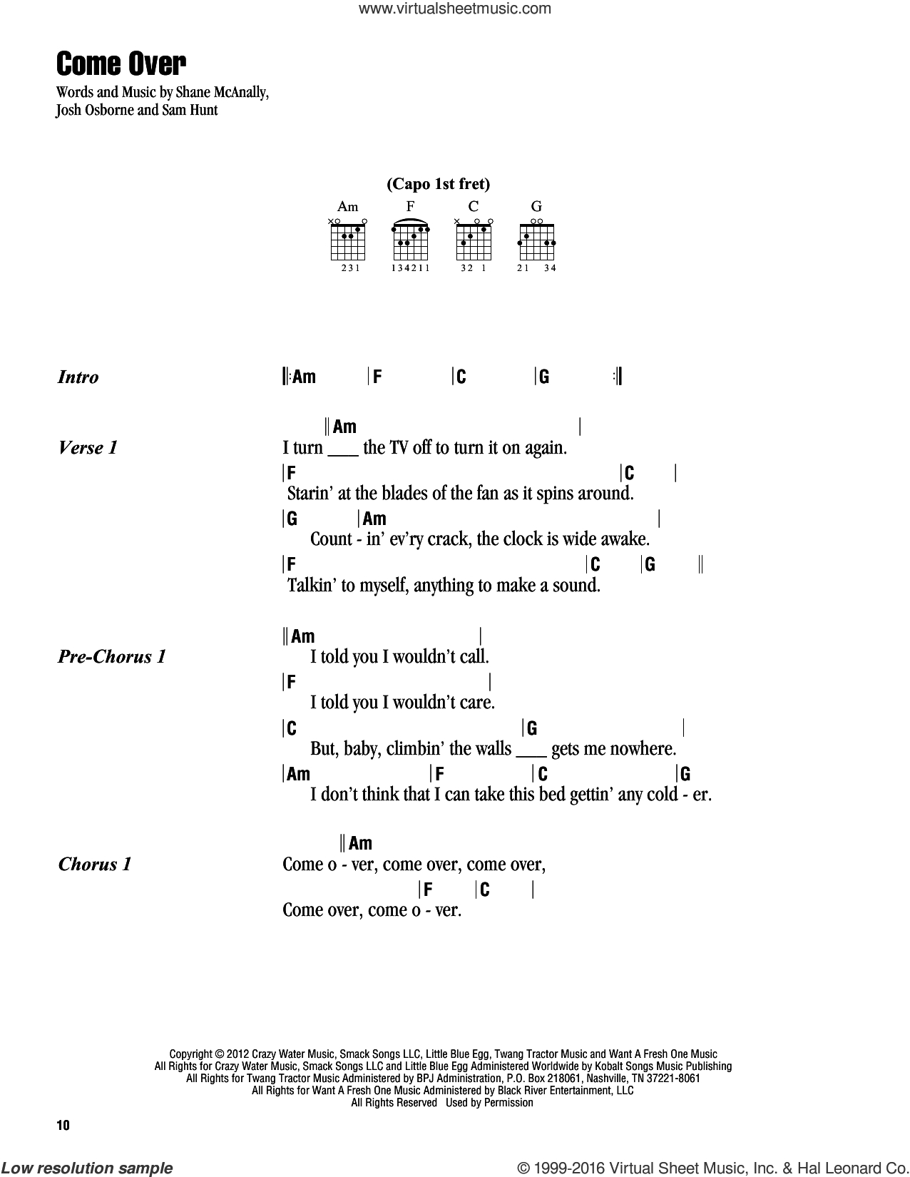 Count On Me Chords Chesney Come Over Sheet Music For Guitar Chords Pdf