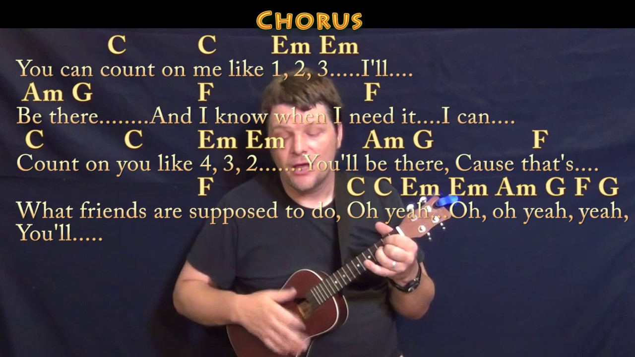 Count On Me Chords Count On Me Bruno Mars Ukulele Cover Lesson In C With Chordslyrics