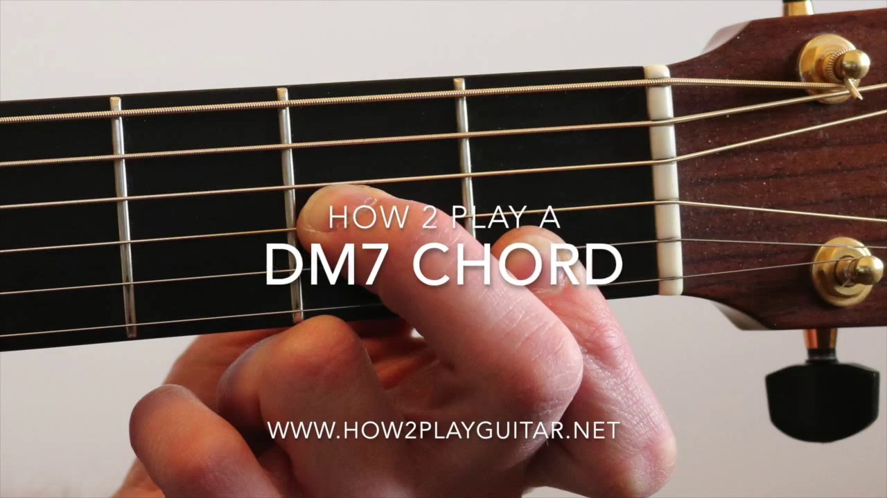 Dm7 Guitar Chord How To Play A Dm7 Chord On Guitar