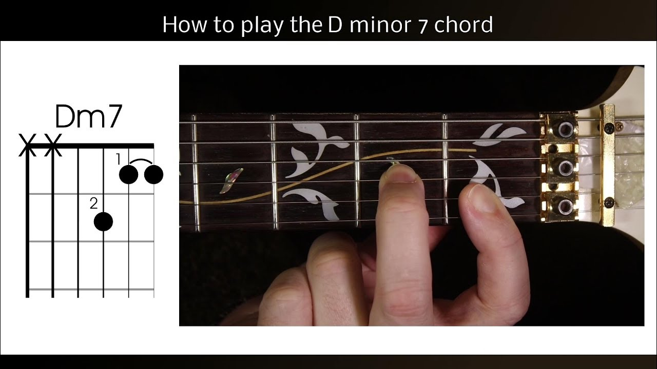 Dm7 Guitar Chord How To Play Dm7 On Guitar The D Minor 7 Chord
