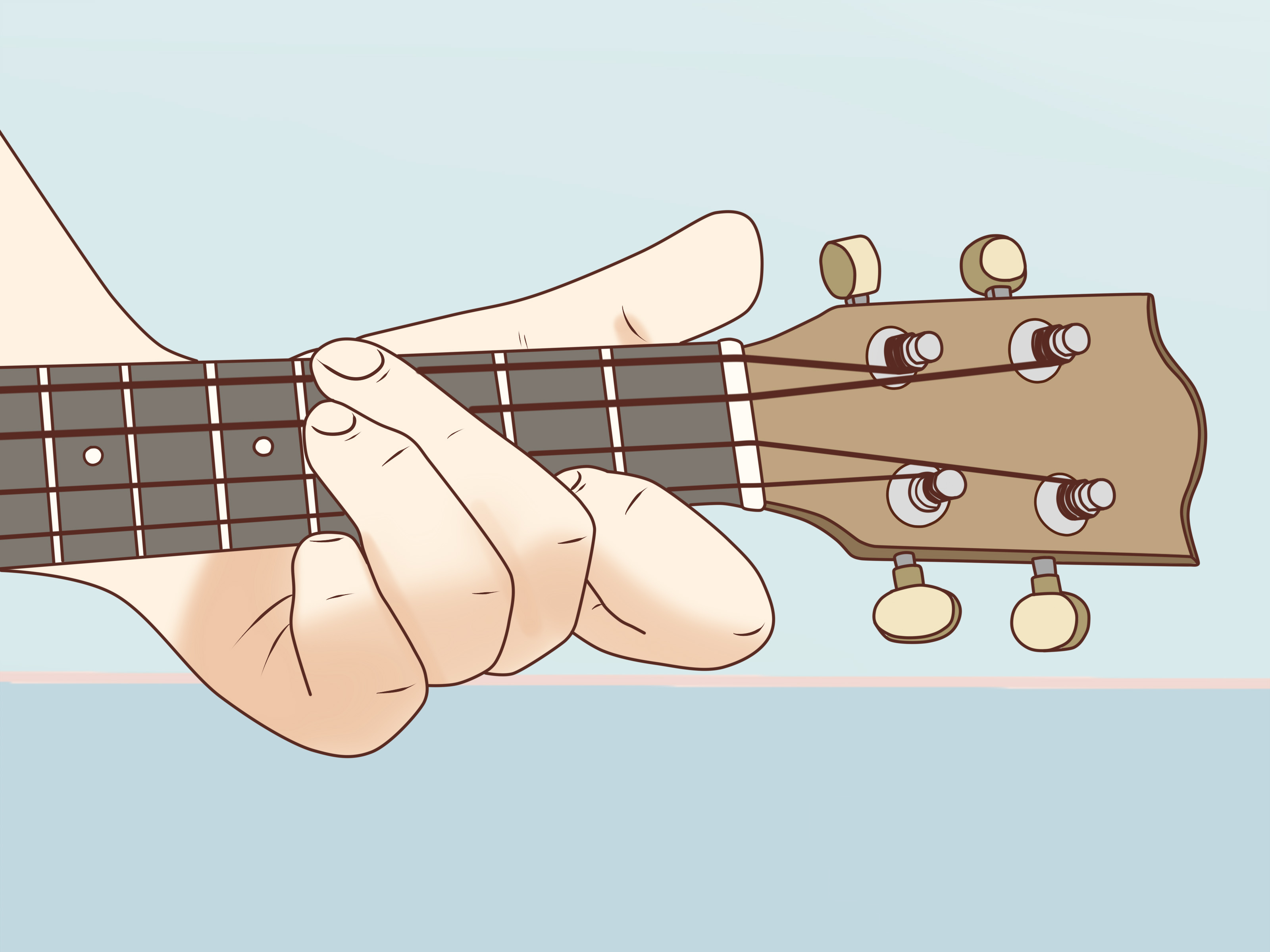 E Chord Guitar How To Play An E Chord On The Ukulele 7 Steps With Pictures