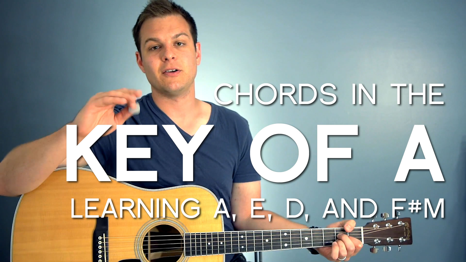 F M Guitar Chord Guitar Chords In The Key Of A Major Worship Tutorials
