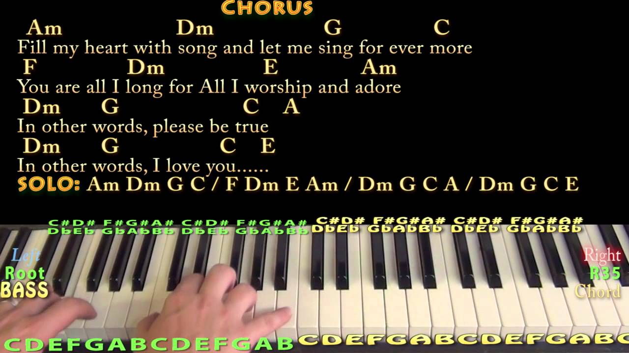 Fly Me To The Moon Chords Fly Me To The Moon Jazzy Piano Cover Lesson With Chordslyrics