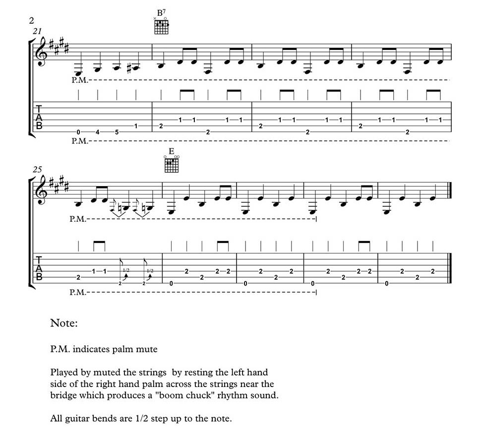 Folsom Prison Blues Chords Folsom Prison Blues Guitar Introduction And Solo To The Johnny Cash