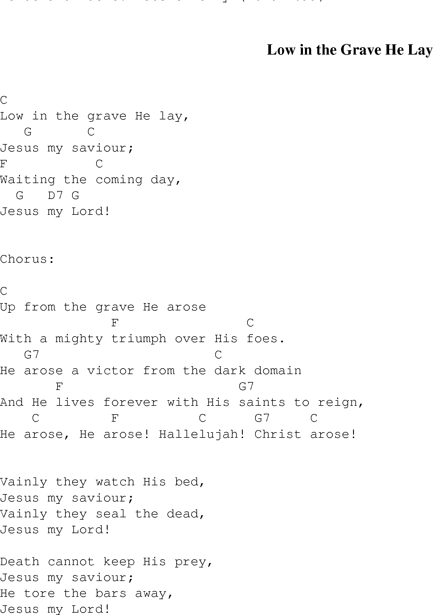 Forever Reign Chords Low In The Grave Christian Gospel Song Lyrics And Chords