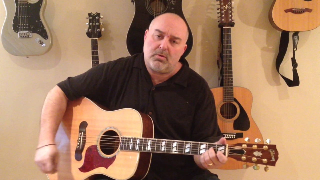 Friends In Low Places Chords How To Play Friends In Low Places Garth Brooks Cover Easy 5 Chord Tune