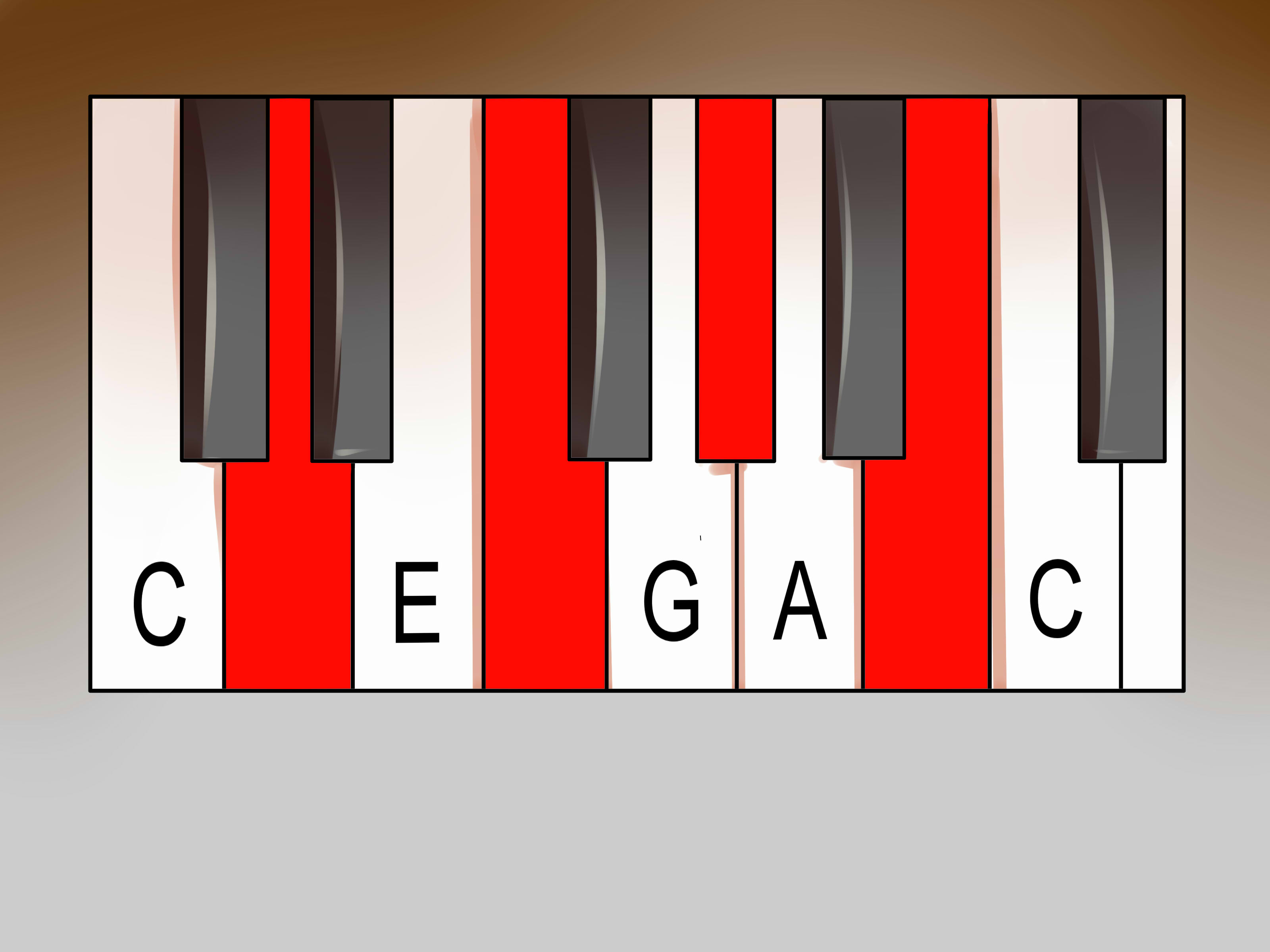 G Chord Piano How To Play Diminished Piano Chords 8 Steps With Pictures