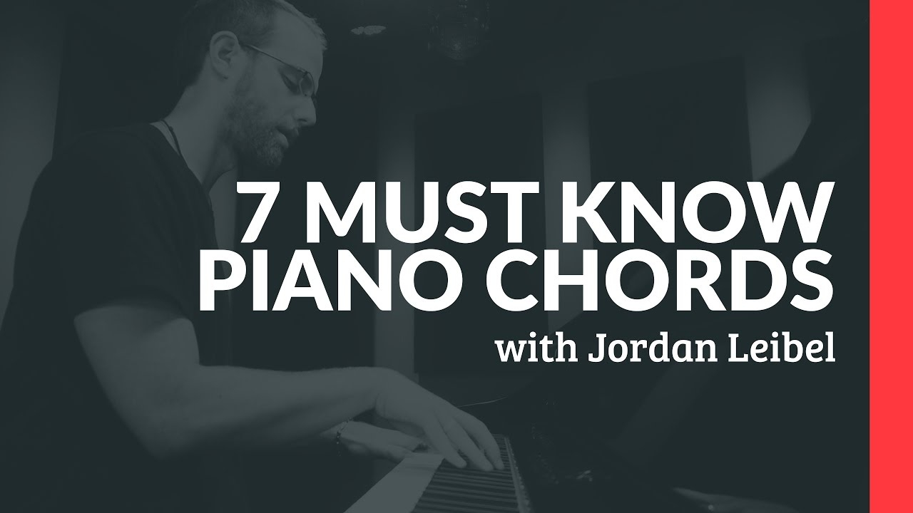 G# Piano Chord 7 Must Know Piano Chords
