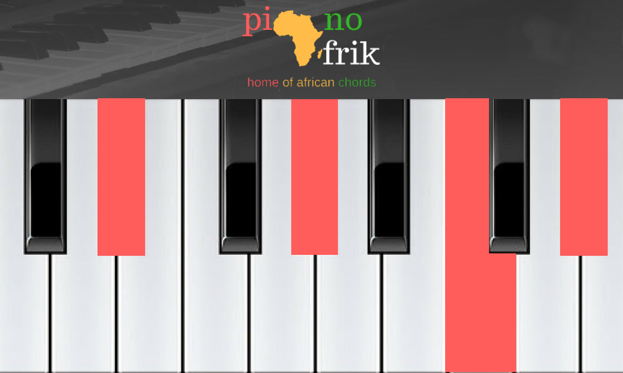 G# Piano Chord Chords And Sofas In G Sharp A Flat Major Pianoafrik