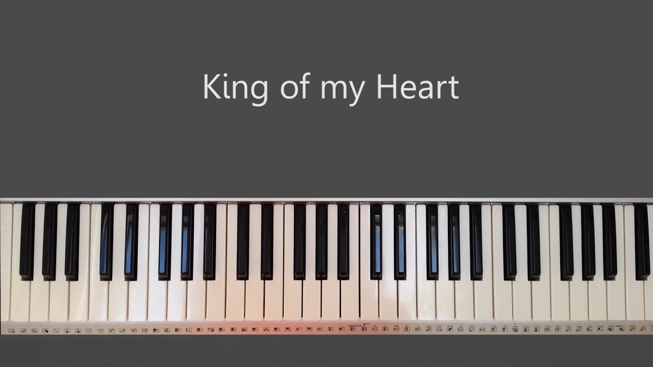 G# Piano Chord King Of My Heart Worship Piano Tutorials