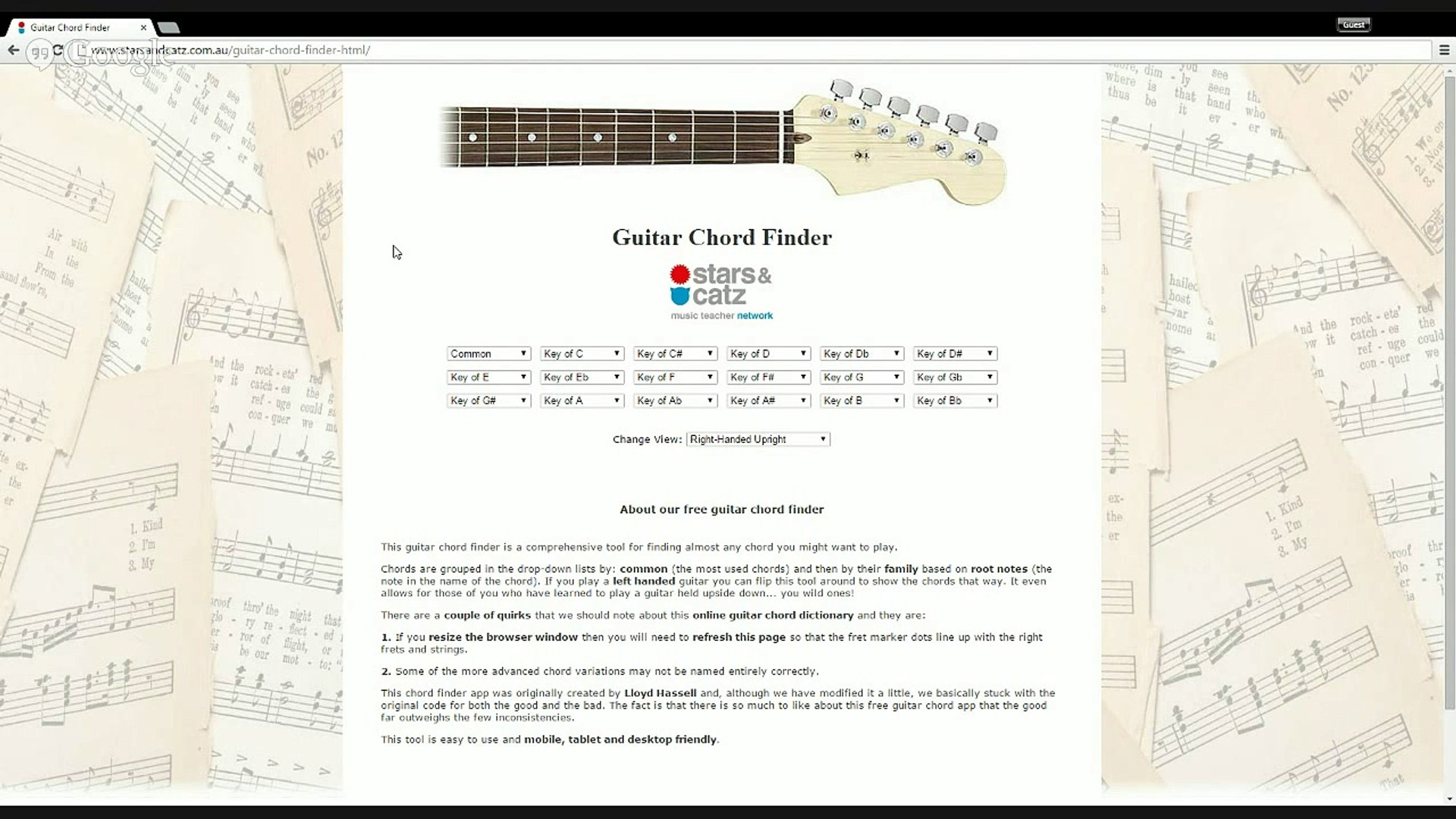 Guitar Chord Finder Free Online Guitar Chord Finder Dictionary Mobile Friendly