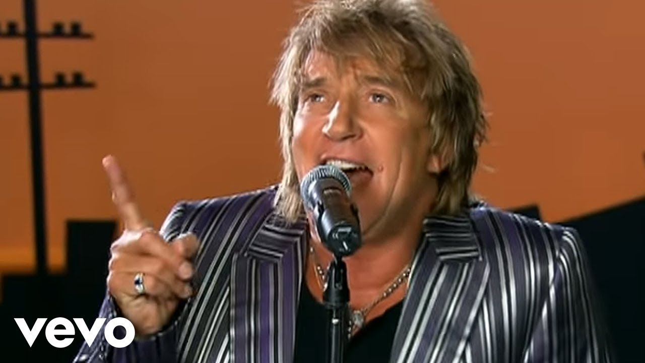 Have You Ever Seen The Rain Chords Rod Stewart Have You Ever Seen The Rain Official Music Video