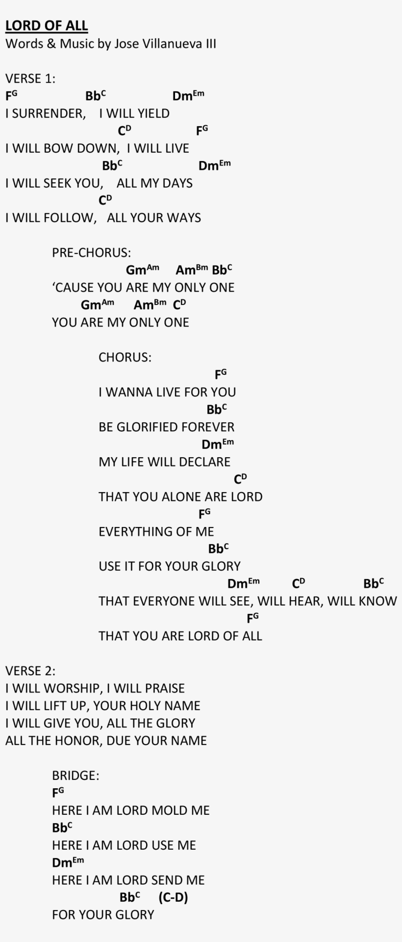 Here I Am To Worship Chords Praise Worship Chords Document Transparent Png 2550x3300