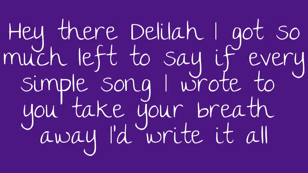 Hey There Delilah Chords Hey There Delilah Lyrics Chords Chordify