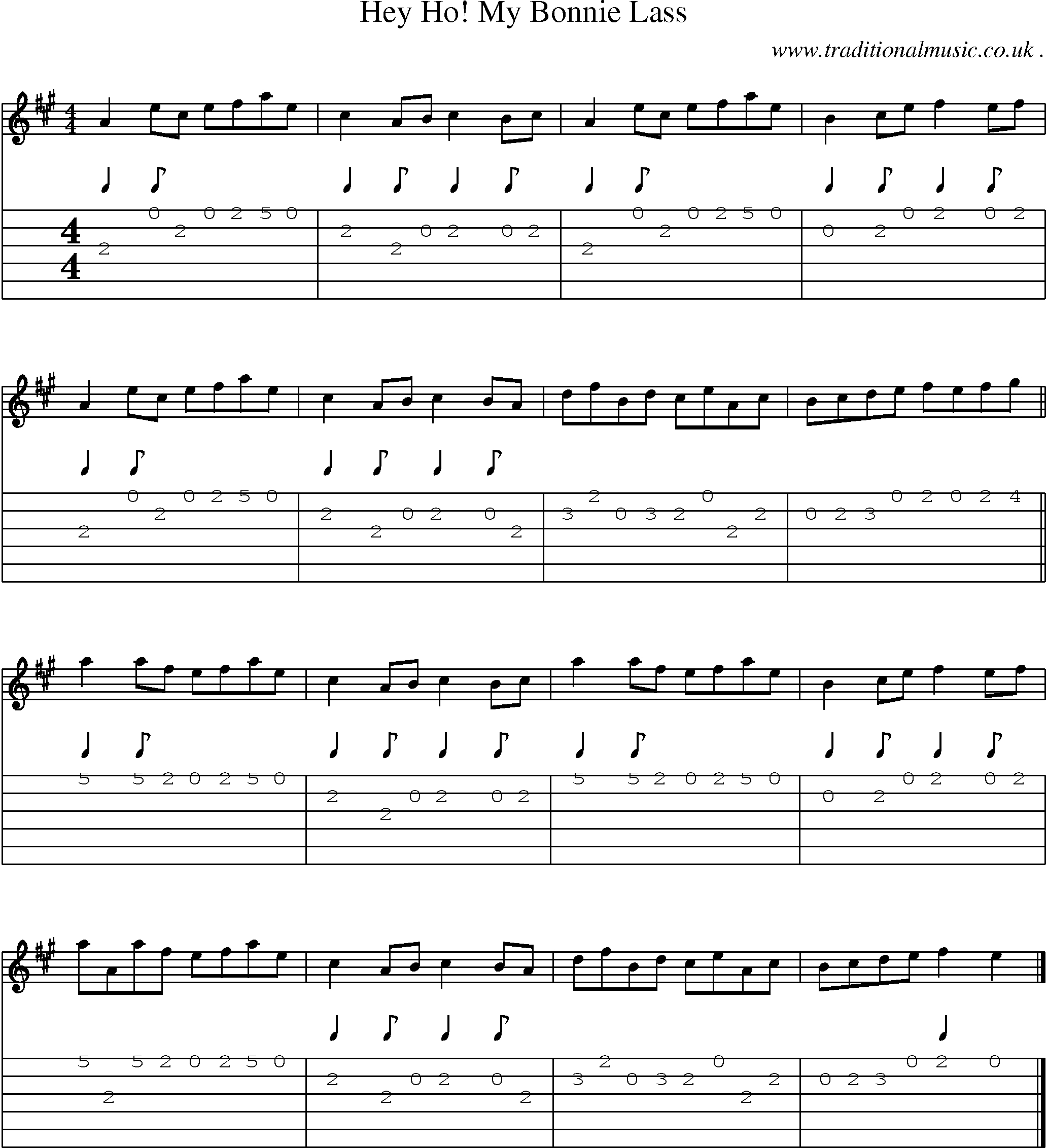 Ho Hey Chords Scottish Tune Sheetmusic Midi Mp3 Guitar Chords Tabs Hey Ho