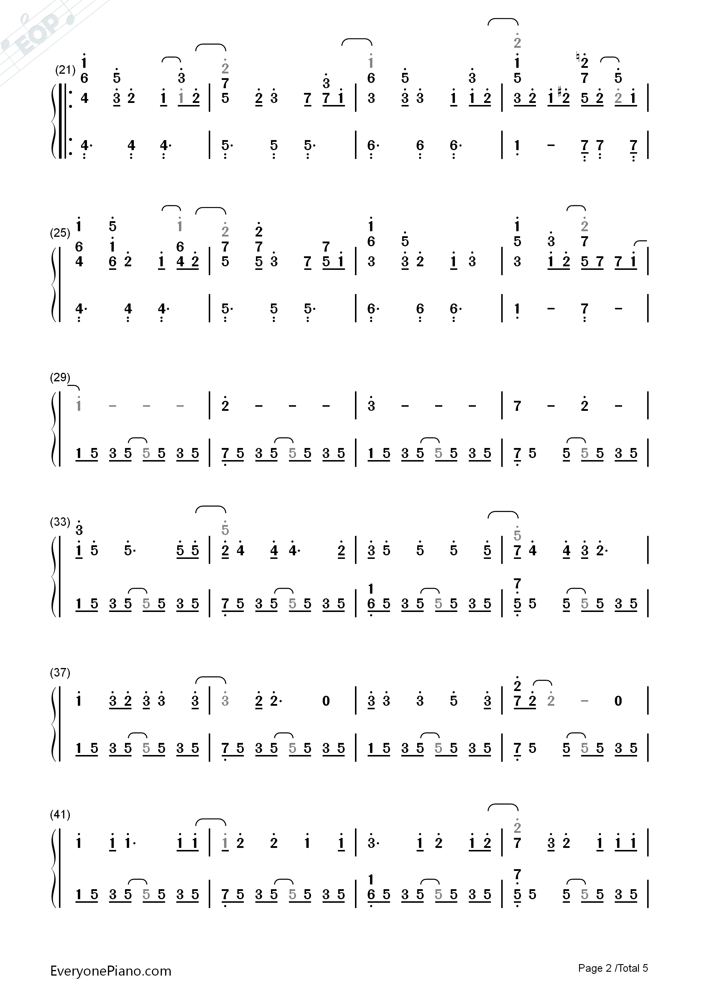How To Save A Life Chords How To Save A Life The Fray Numbered Musical Notation Preview Eop