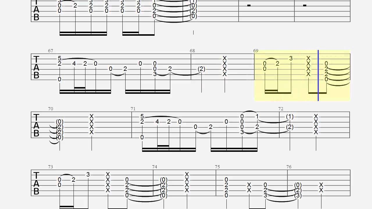 I See Fire Chords Guitar Tab I See Fire Slow Chords How To Play