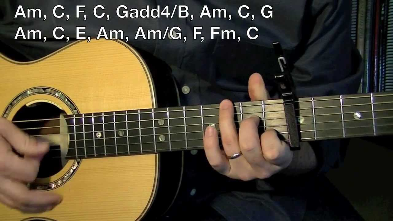 I Will Follow You Into The Dark Chords Death Cab For Cutie Inspired Guitar Lesson I Will Follow You Into The Dark
