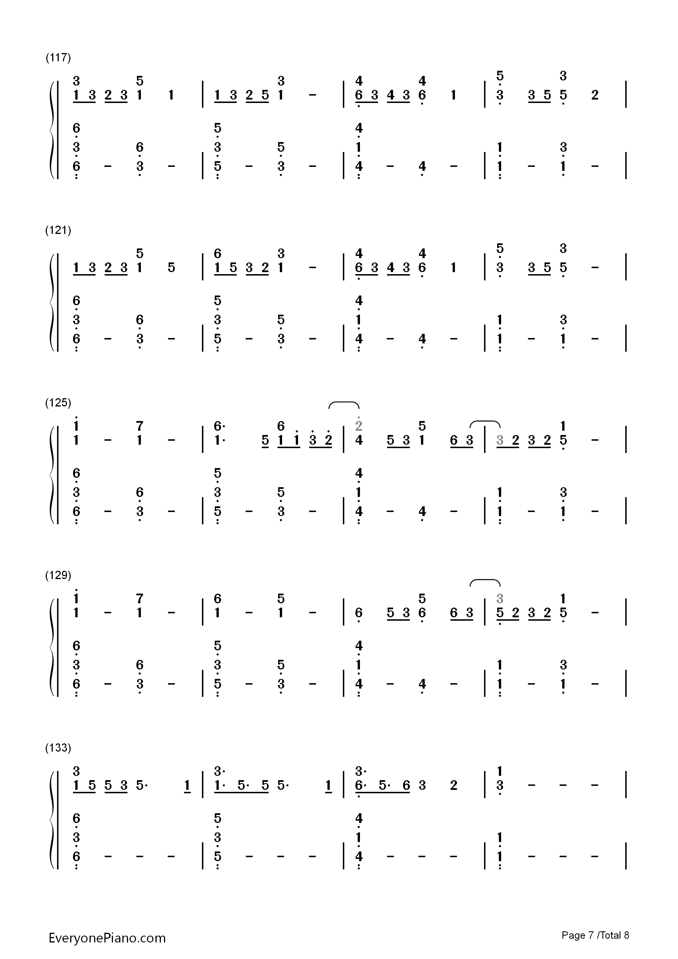 Lost Boy Chords Lost Boy Ruth B Numbered Musical Notation Preview Eop Online Music