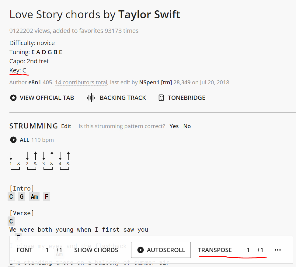 Love Story Chords How To Be That Guy With The Guitar At Parties Another Uninformed