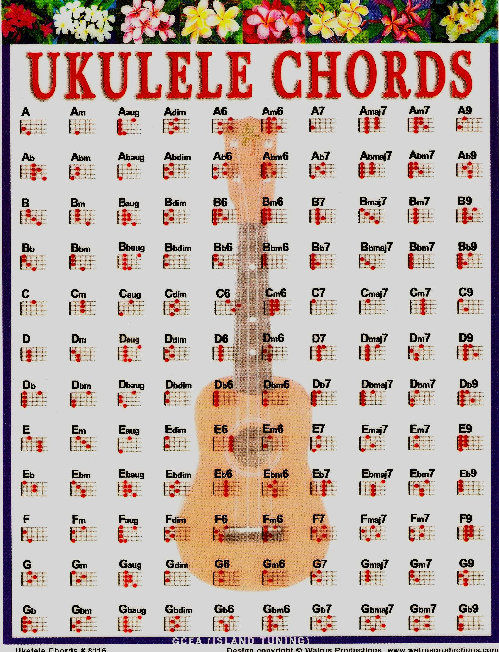 Mandolin Chord Chart Chords Charts Collection Gallery