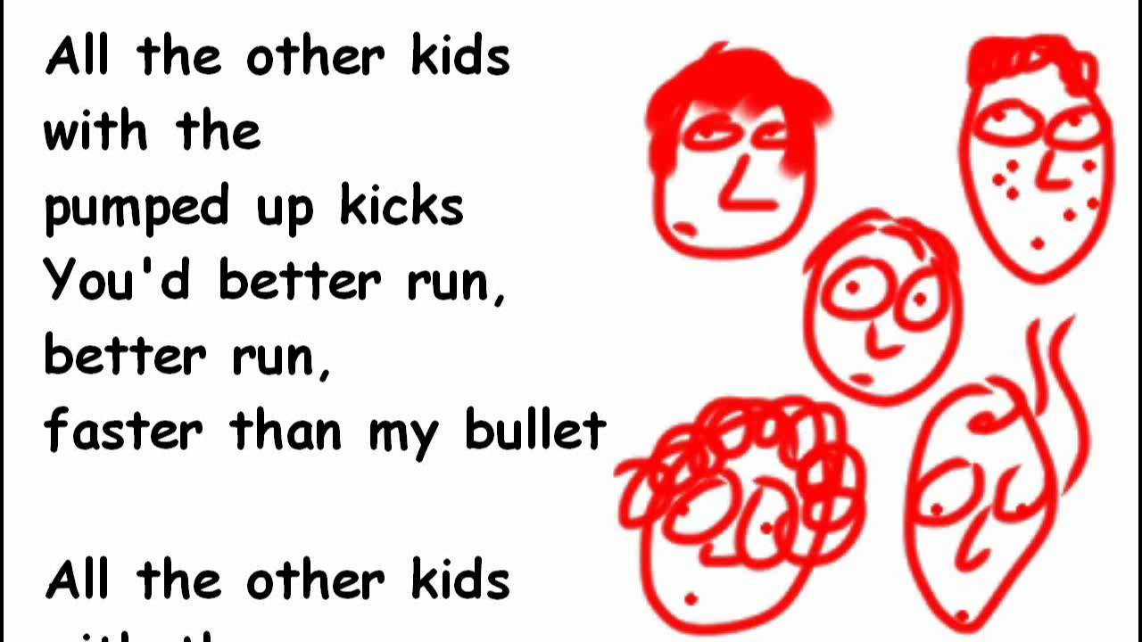 Pumped Up Kicks Chords Pumped Up Kicks Lyrics And Chords Foster The People 2d Acoustic Cover