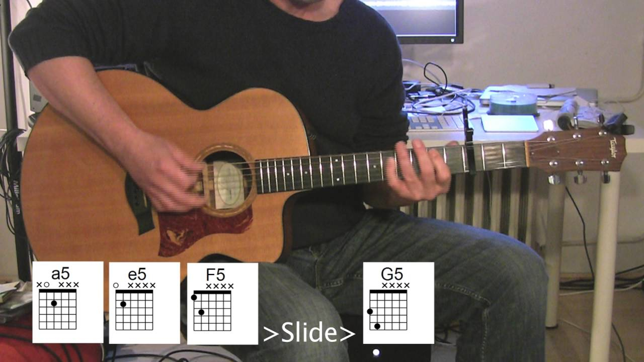 Rolling In The Deep Chords Rolling In The Deep Acoustic Guitar Chord Diagrams
