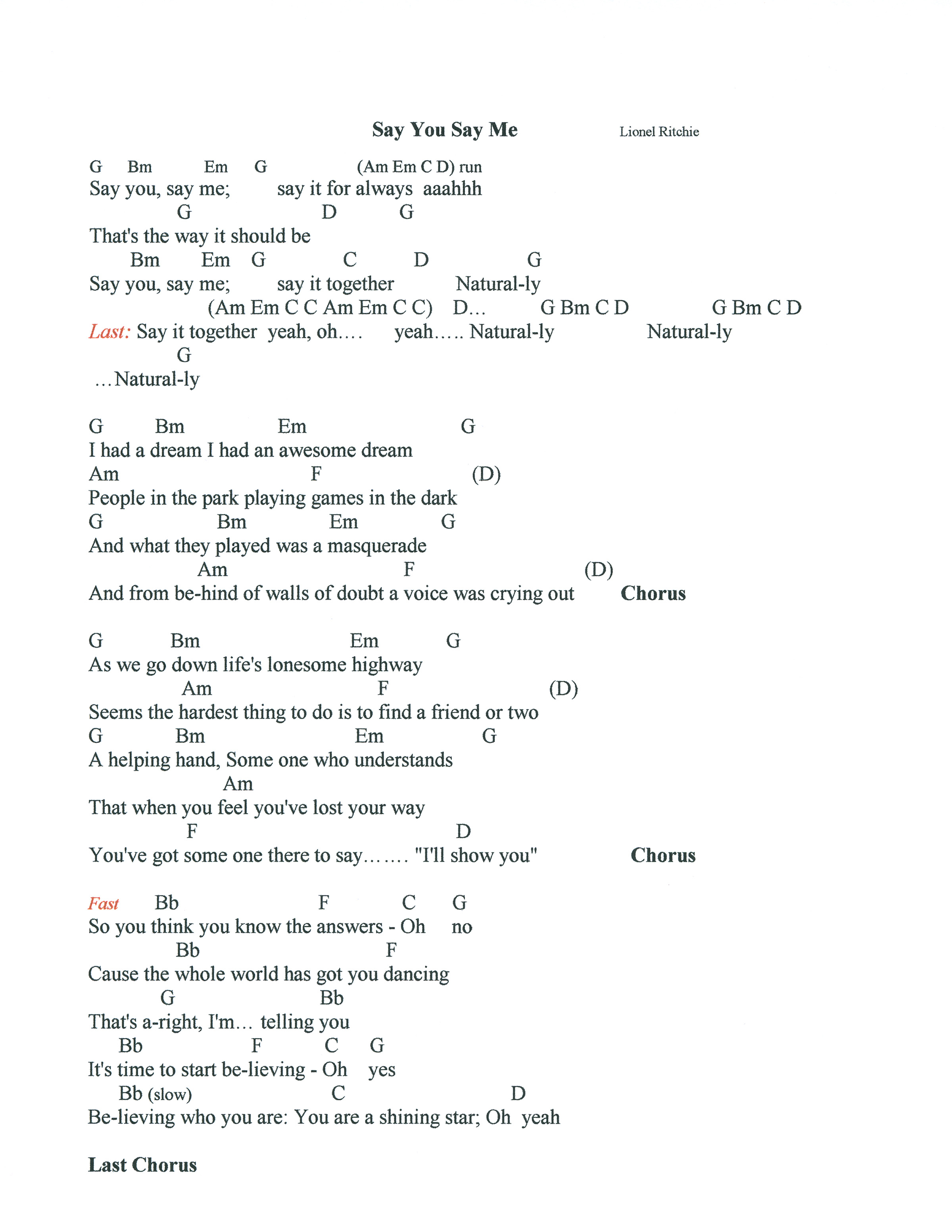 Say Something Chords Say You Say Me Lyrics And Chords Mightyturk