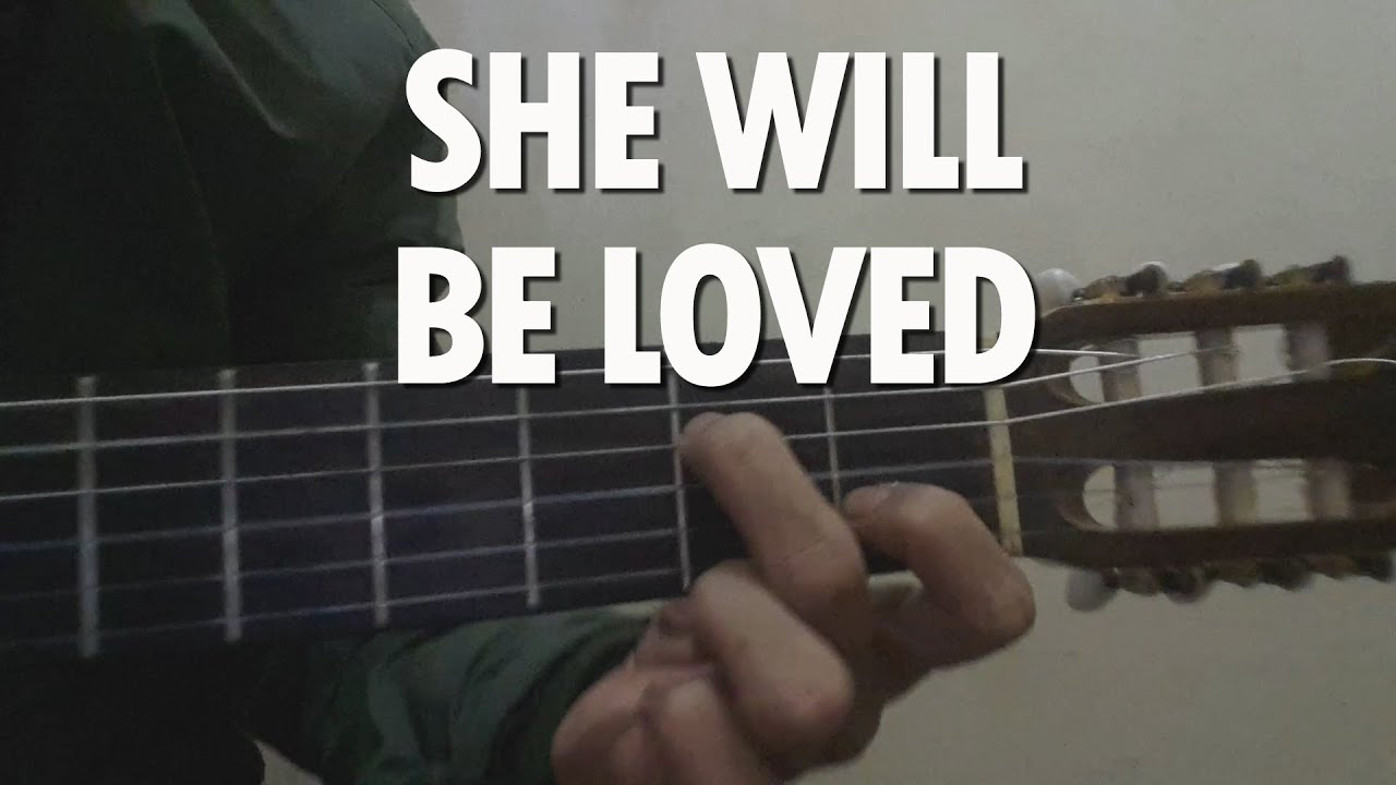 She Will Be Loved Chords She Will Be Loved Maroon 5 Easy Guitar Tutorialchords