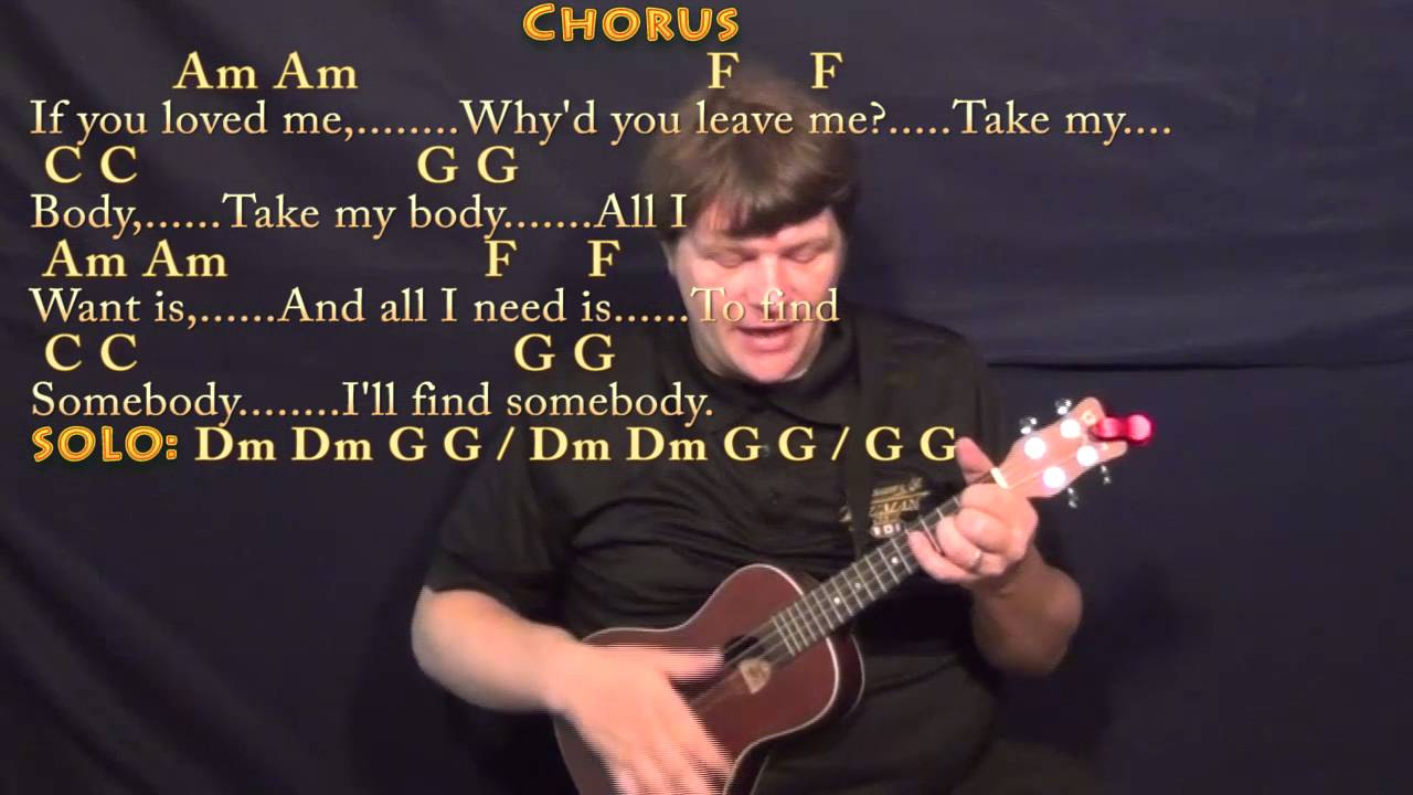 Skinny Love Ukulele Chords All I Want Kodaline Ukulele Cover Lesson With Chordslyrics