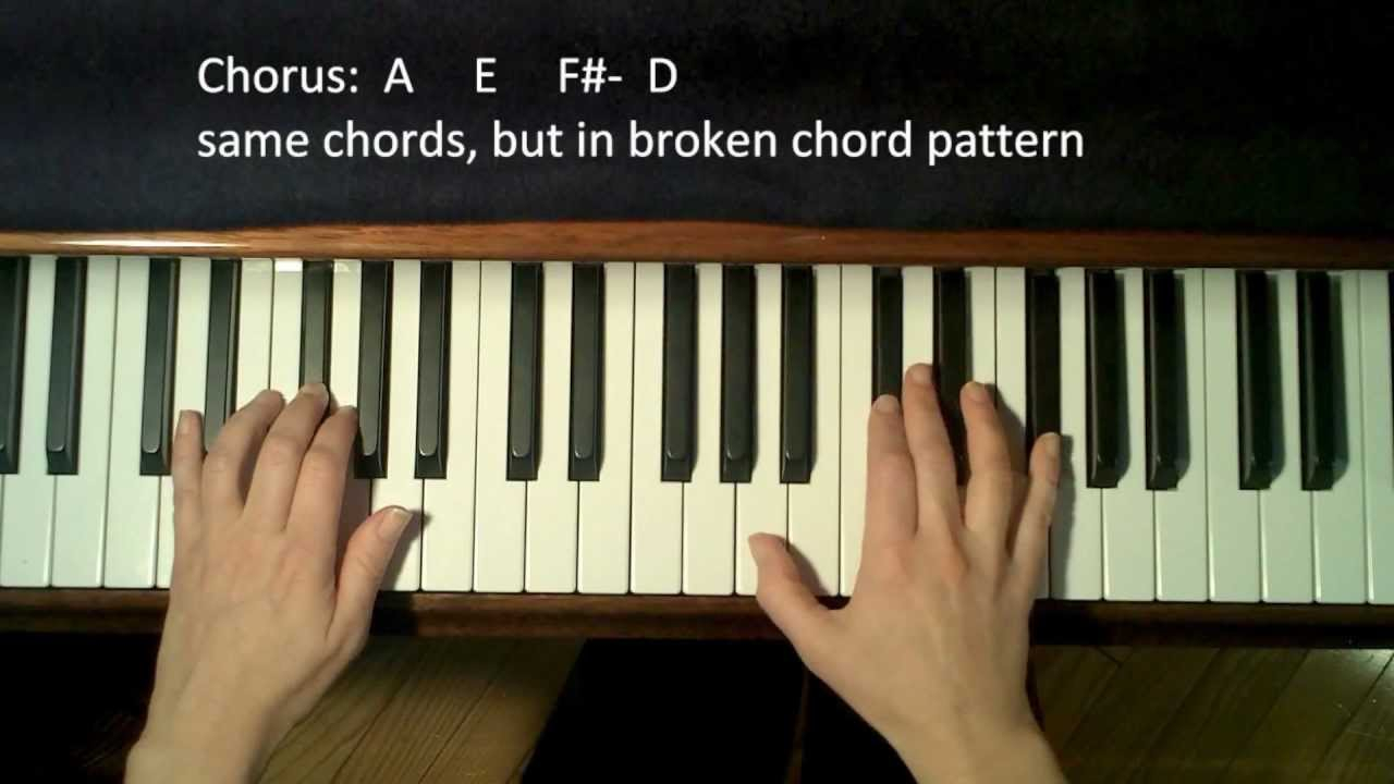 Someone Like You Chords How To Play Someone Like You Adele On Piano Easy