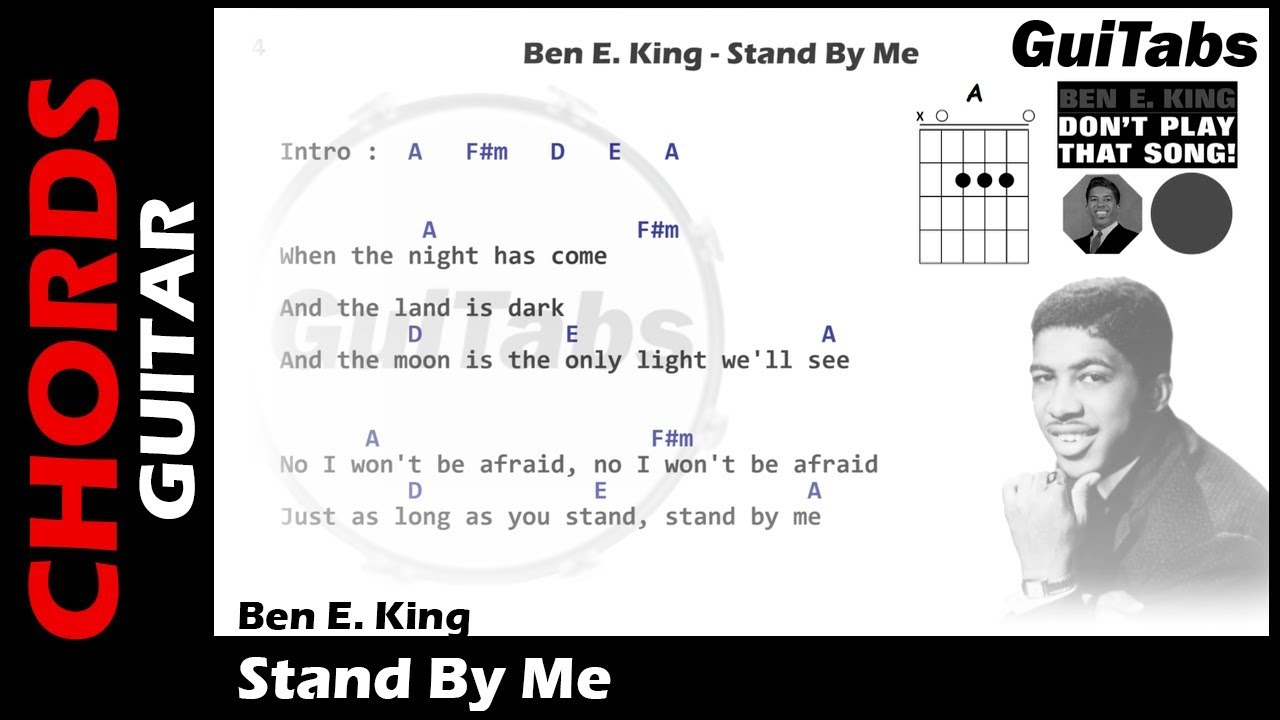 Stand By Me Chords Stay Me