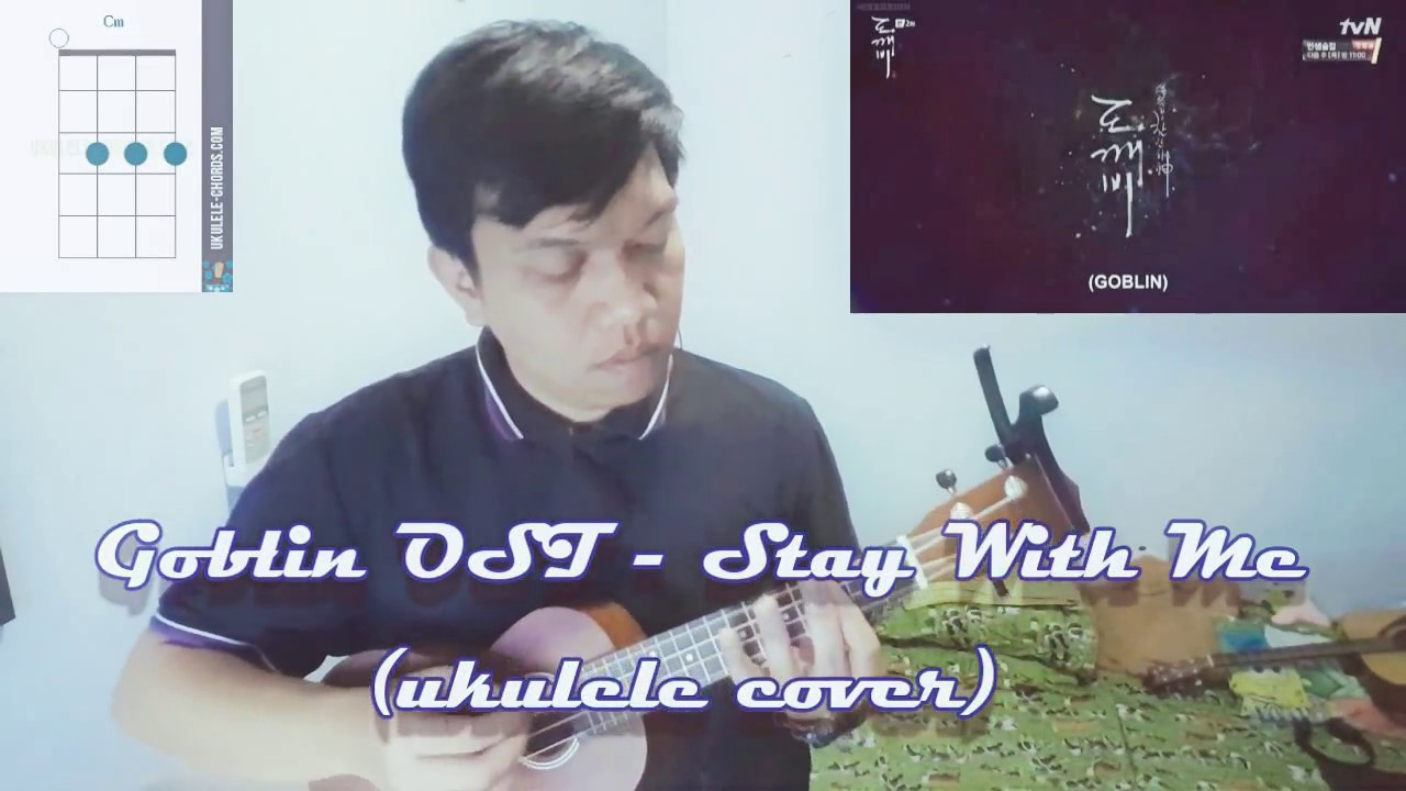 Stay With Me Ukulele Chords Goblin Ost Stay With Me Ukulele Cover With Chords Chords Chordify