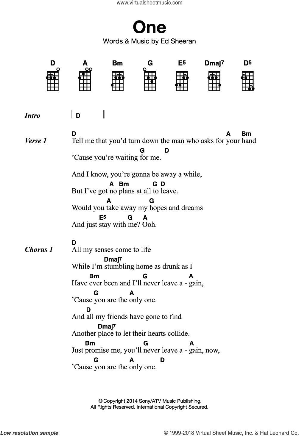 Stay With Me Ukulele Chords Sheeran One Sheet Music For Ukulele Pdf