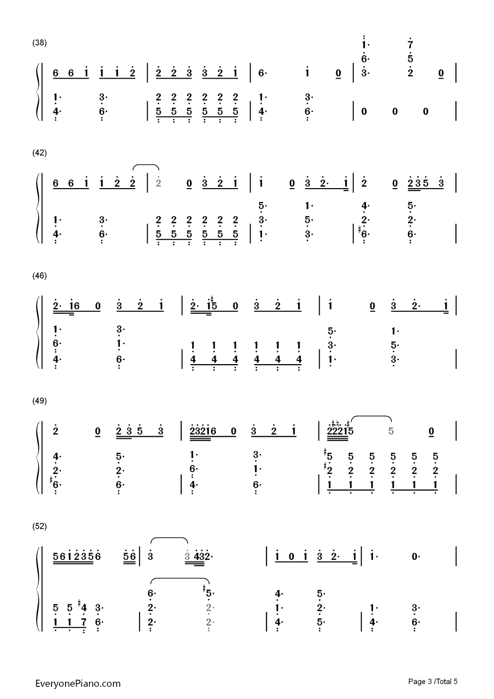 Stone Cold Chords Stone Cold Demi Lovato Numbered Musical Notation Preview Eop Online