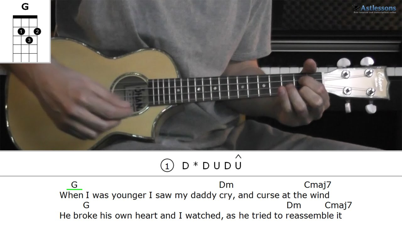 The Only Exception Chords How To Play The Only Exception With Paramore Ukulele Lesson