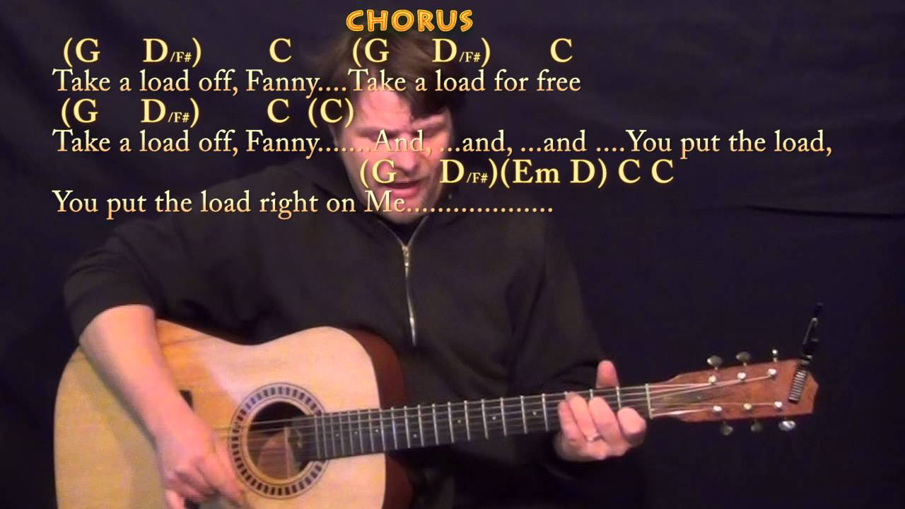 The Weight Chords The Weight The Band Strum Guitar Cover Lesson In G With Chordslyrics