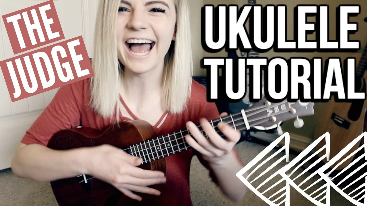 Twenty One Pilots Ukulele Chords The Judge Twenty One Pilots Ukulele Tutorial W Easy Chords Strumming