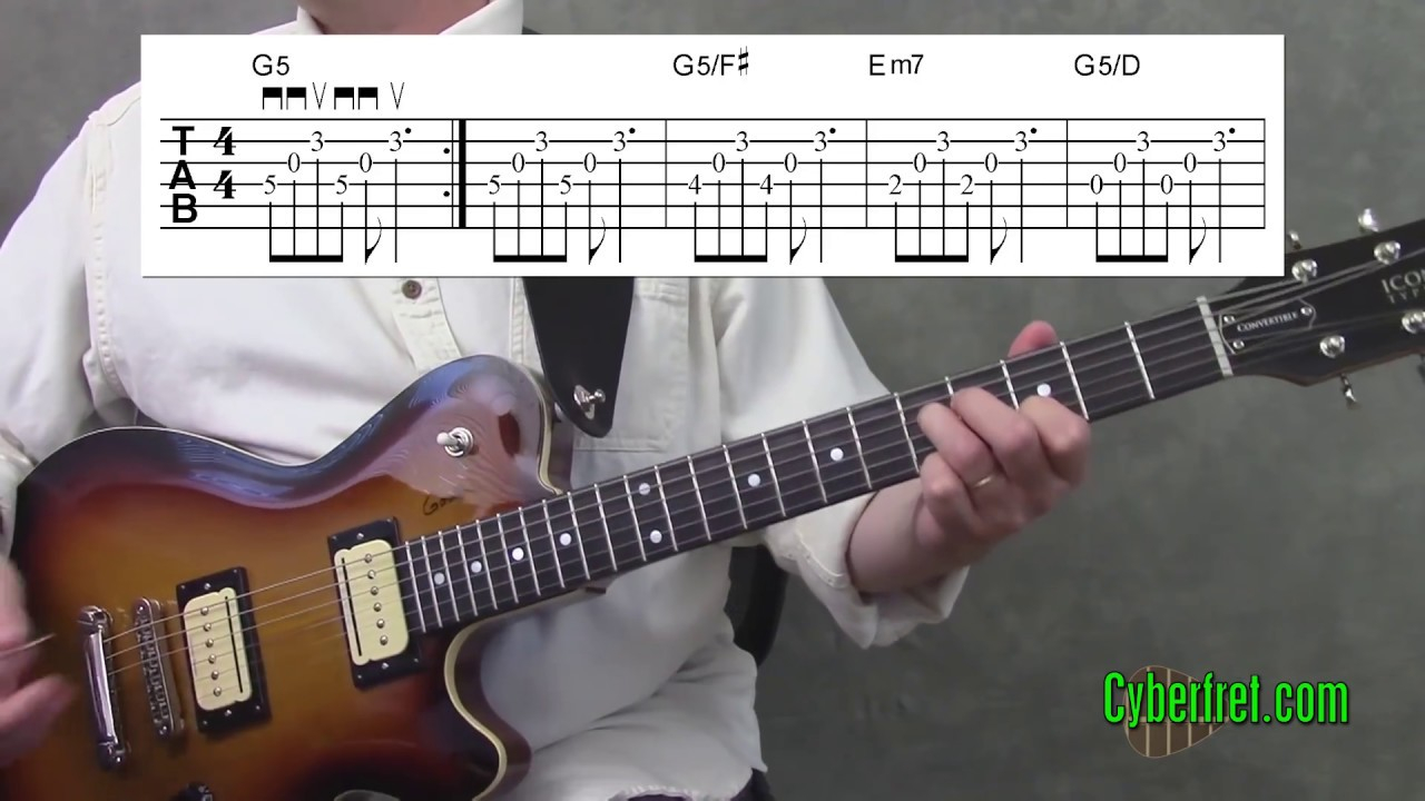Wake Me Up When September Ends Chords Wake Me Up When September Ends Main Chord Riff Lesson